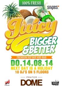 Juicy Bigger & Better 14.08.