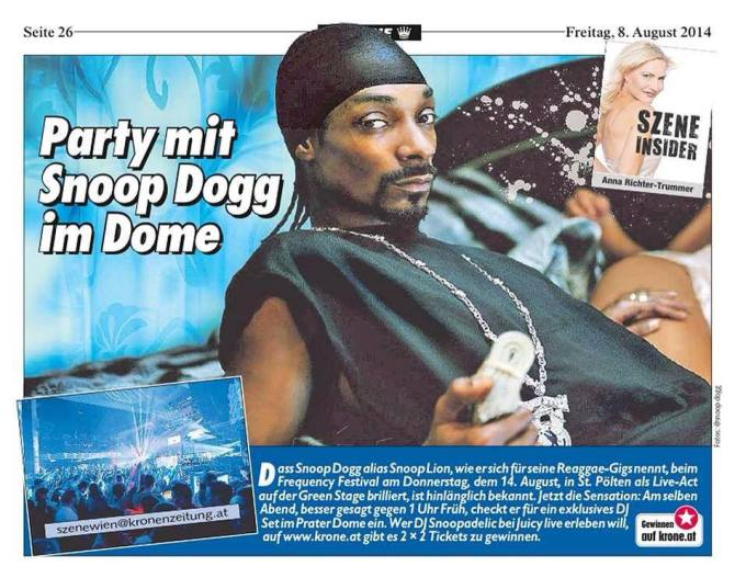 JUICY bringt euch Snoop Dogg!