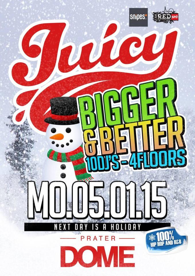JUICY BIGGER & BETTER!